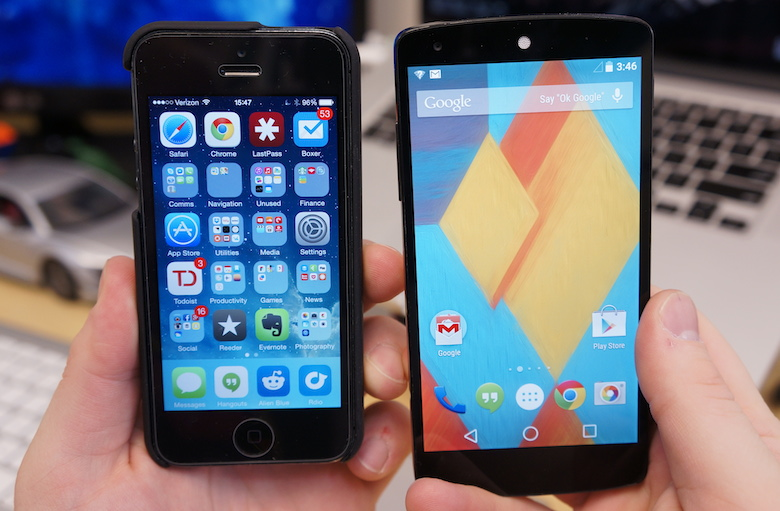 android-l-vs-ios-8