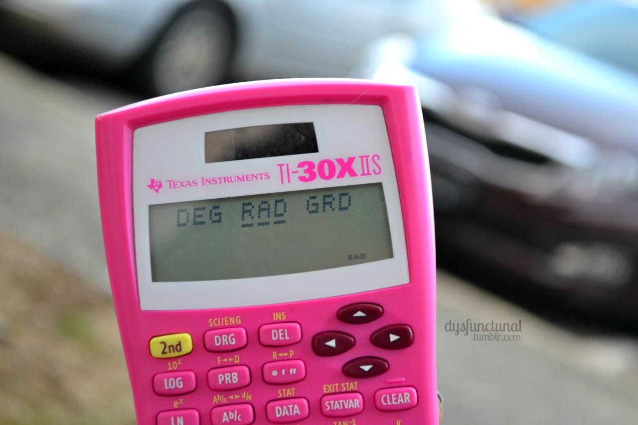 rad calculadora de  estudante de engenharia