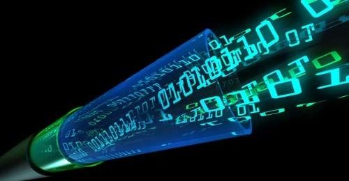 cabo de fibra óptica