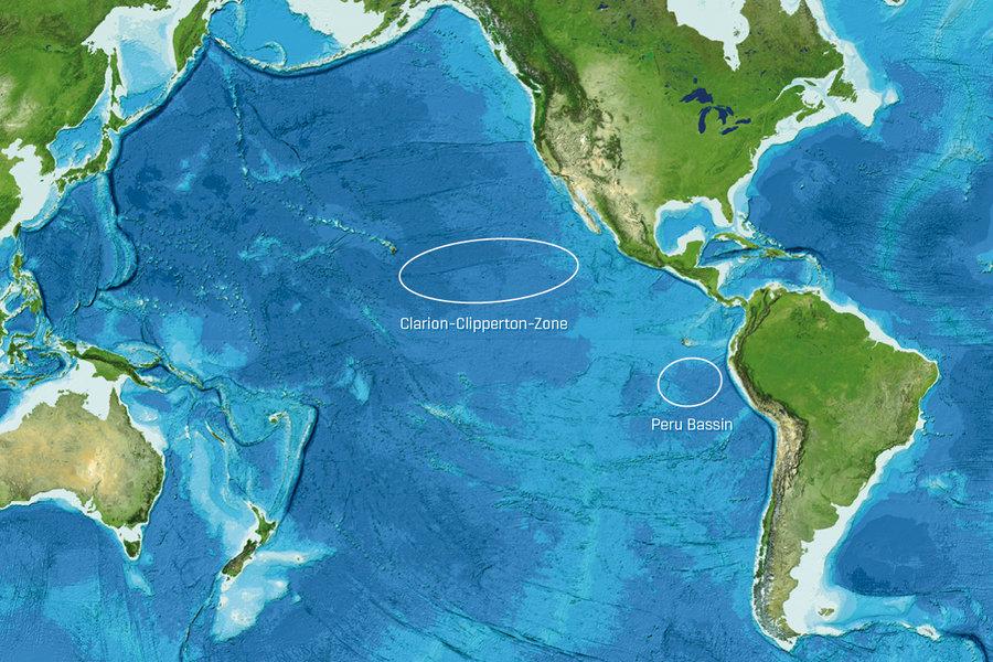 Região Que Abriga Toneladas De Minerais No Fundo Do Oceano Pacífico