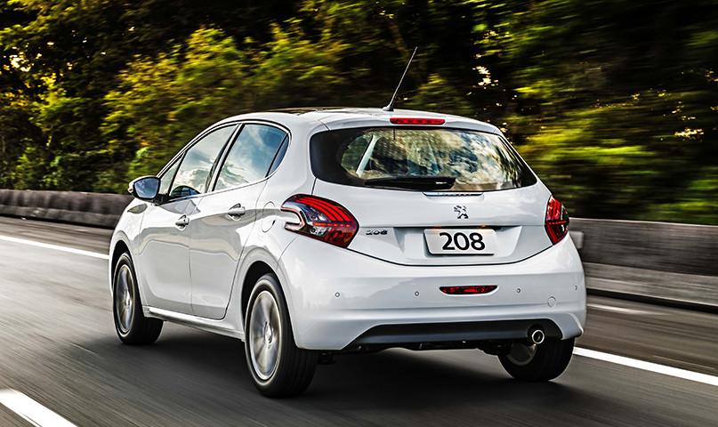 Peugeot 208 2018. (Créditos: carros.peugeot.com.br).