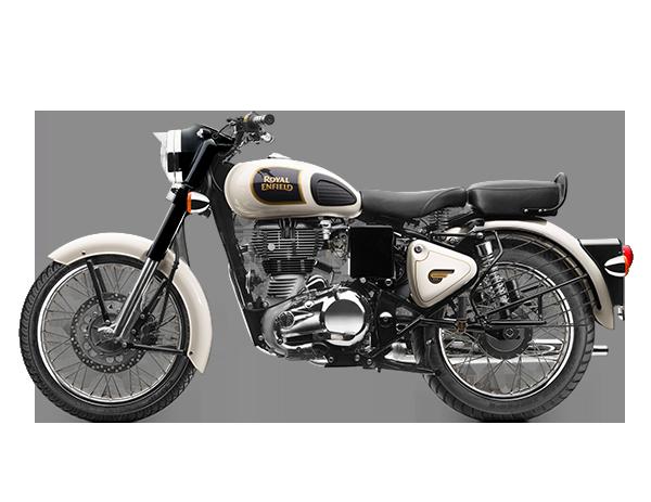 Imagem da motocicleta da Royal Enfield