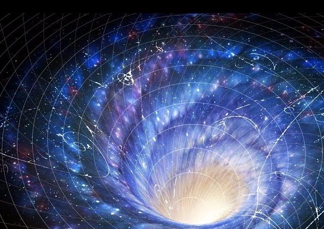 imagem ilustrando energia escura