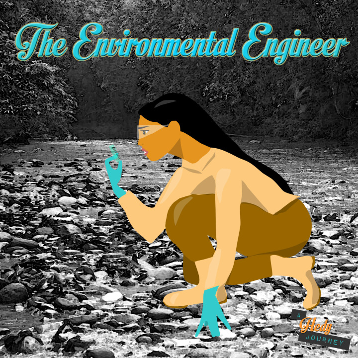 Pocahontas de engenheira ambiental