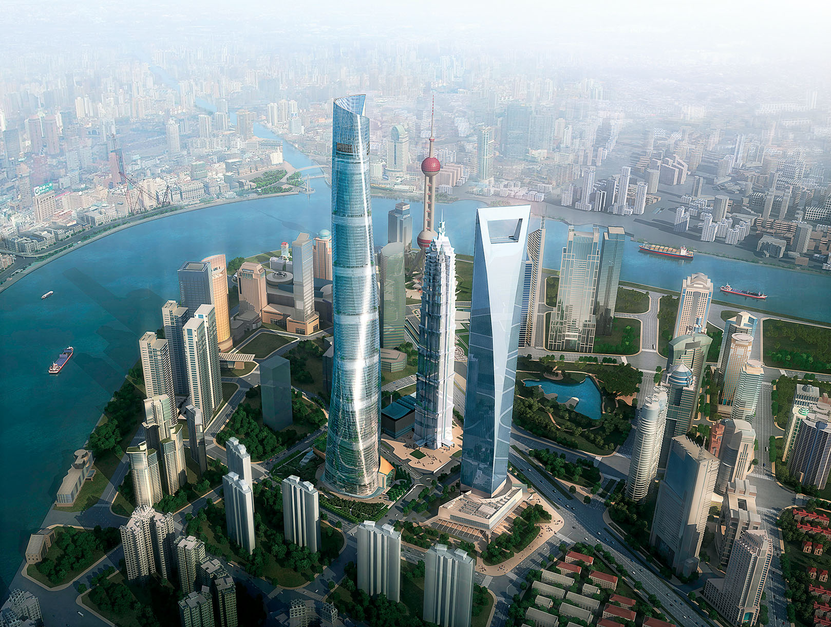 Imagem da Shangai Tower