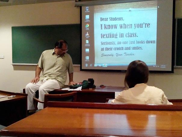 professores engraçados