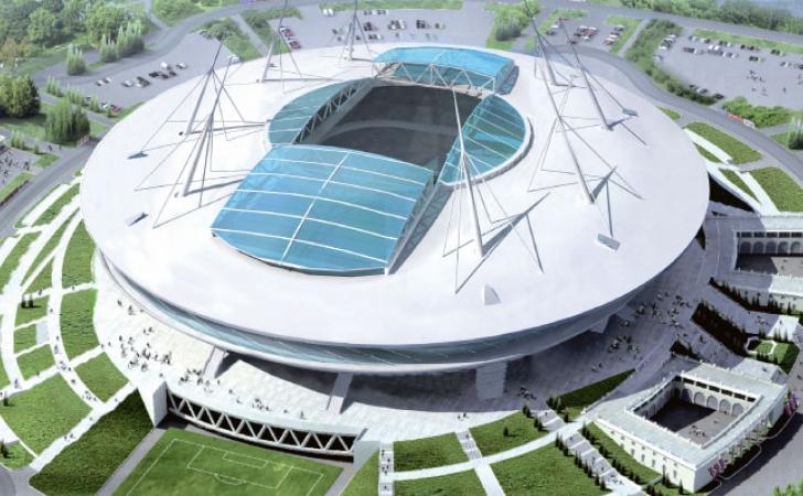 Estádio São Petersburgo - Copa 2018