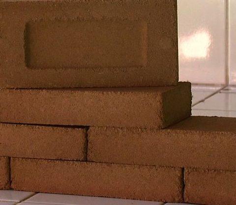 tijolo a partir das cinzas do bagaço da cana-de-açúcar