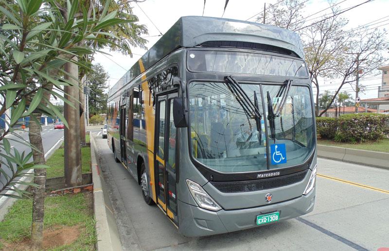 Imagem de ônibus ilustrativa de incentivo ao transporte público pós pandemia