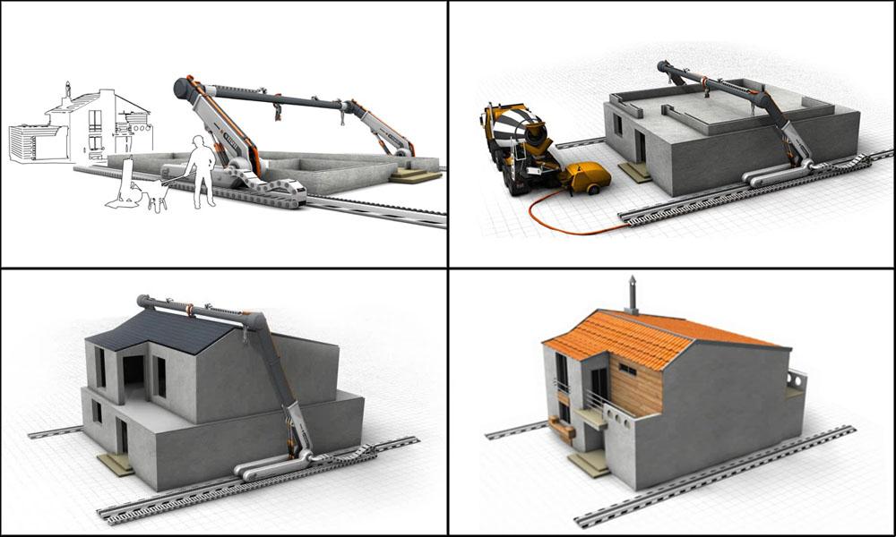 Impressora 3D é capaz de construir casas em menos de um dia