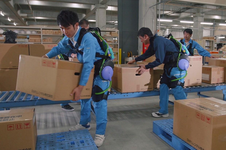 Exoesqueletos robóticos ajudarão trabalhadores no futuro