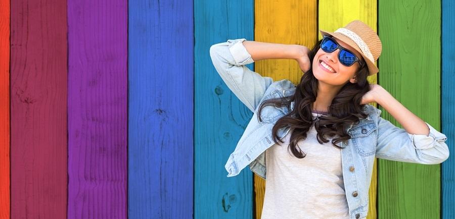 Óculos ajuda pessoas daltônicas a enxergar cores reais