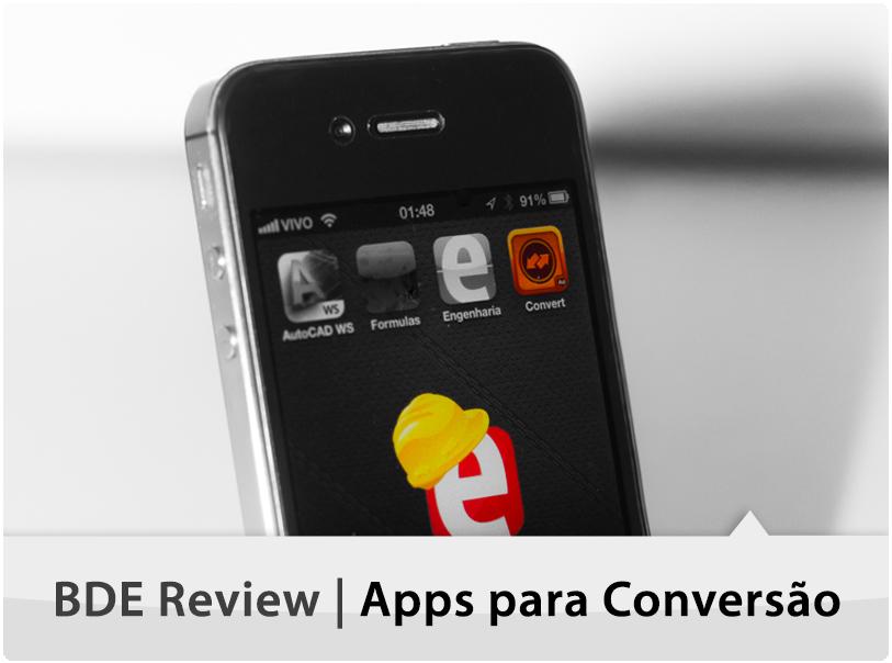 [BDE Review] Apps para Conversão de Unidades