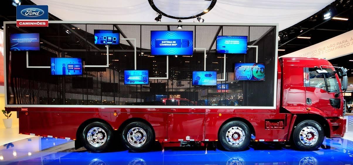 Conectividade nos caminhões? Montadora inova com pacotes de tecnologia e serviços exclusivos