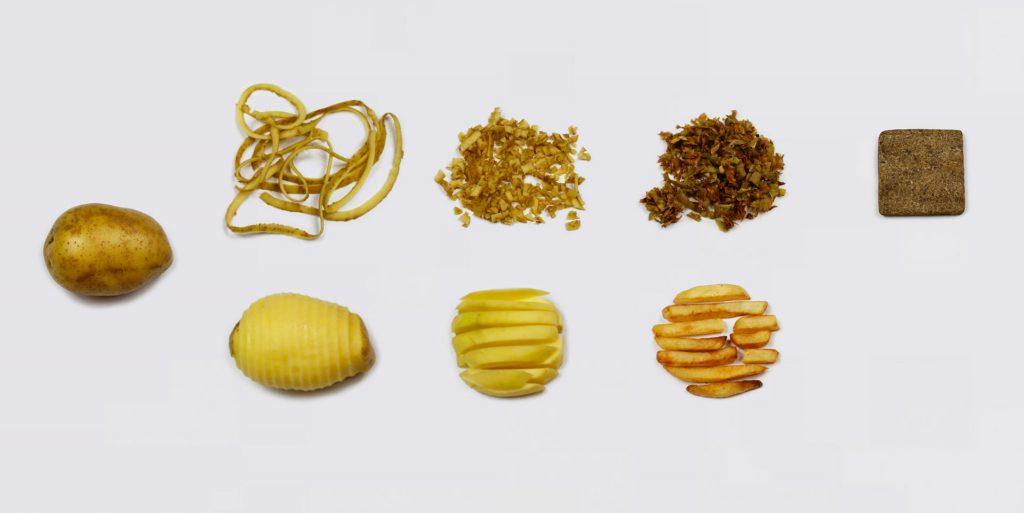 cascas de batata na produção de materiais ecológicos
