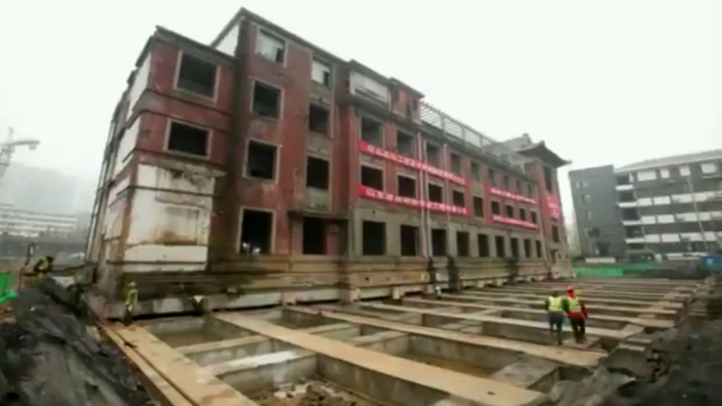 Chineses moveram um hotel