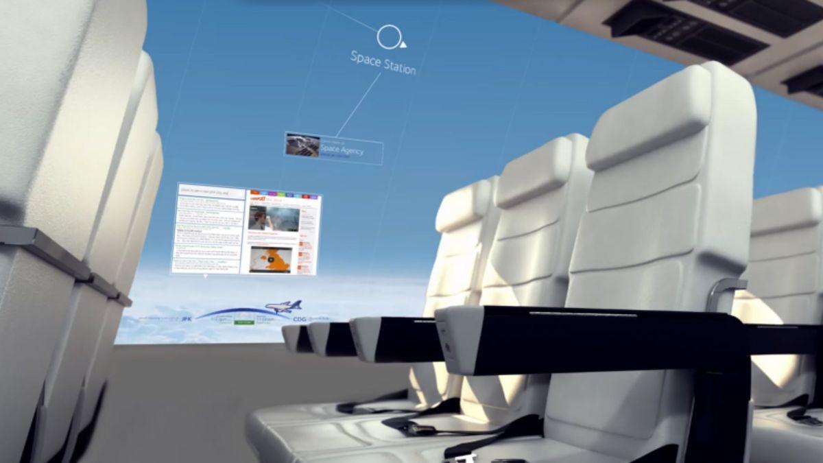 revestimento digital de avião