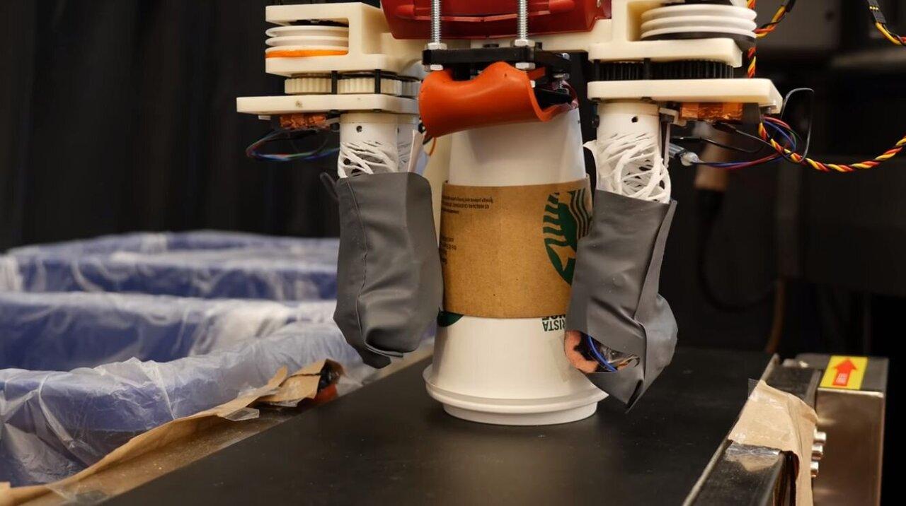 RoCycle: o robô de reciclagem que classifica materiais por meio do toque