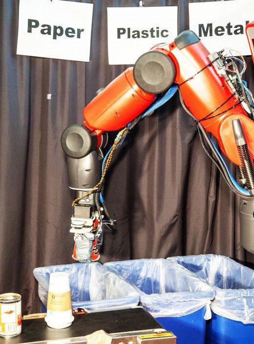 Robô de reciclagem