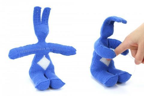 tricotando robôs
