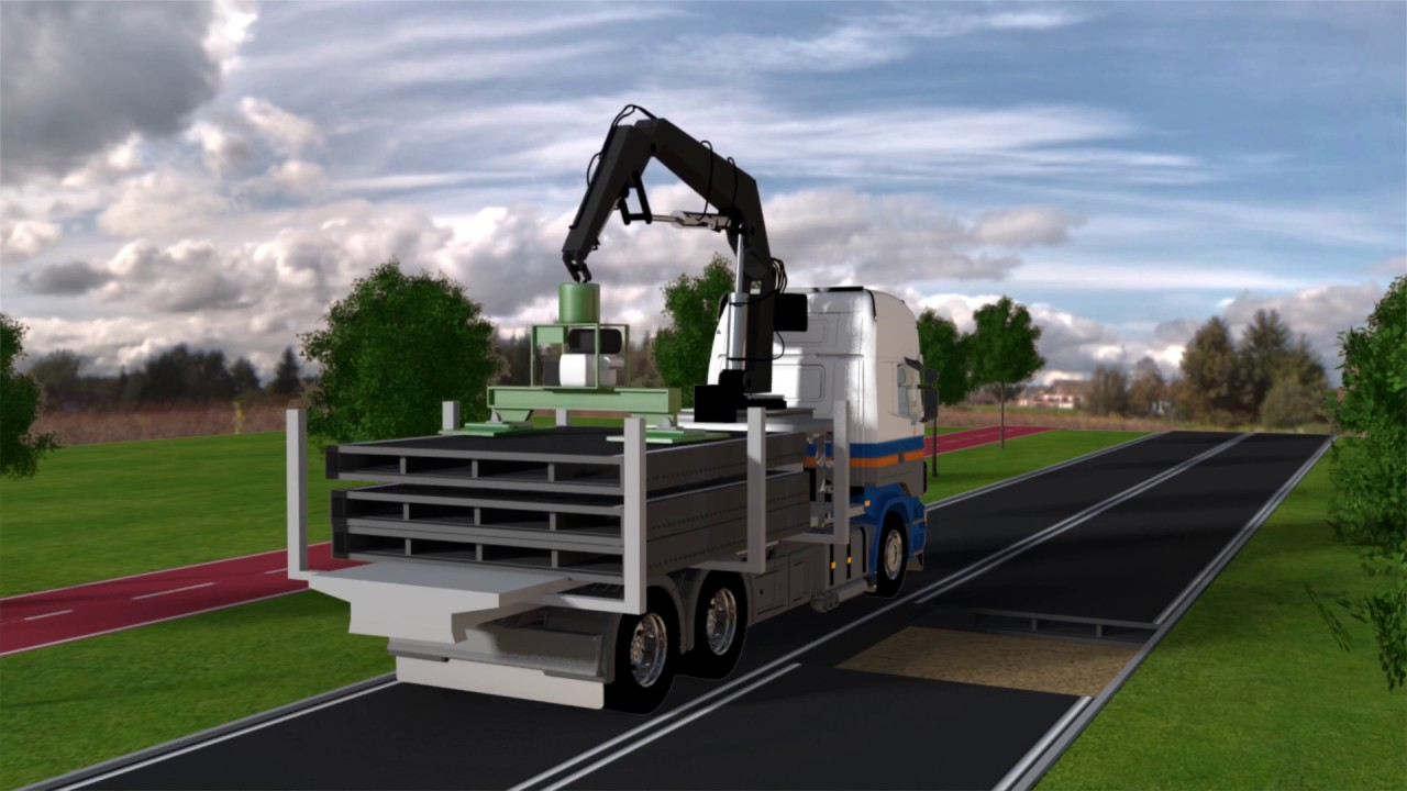 PlasticRoad: rodovia modular construída a partir de plástico reciclado