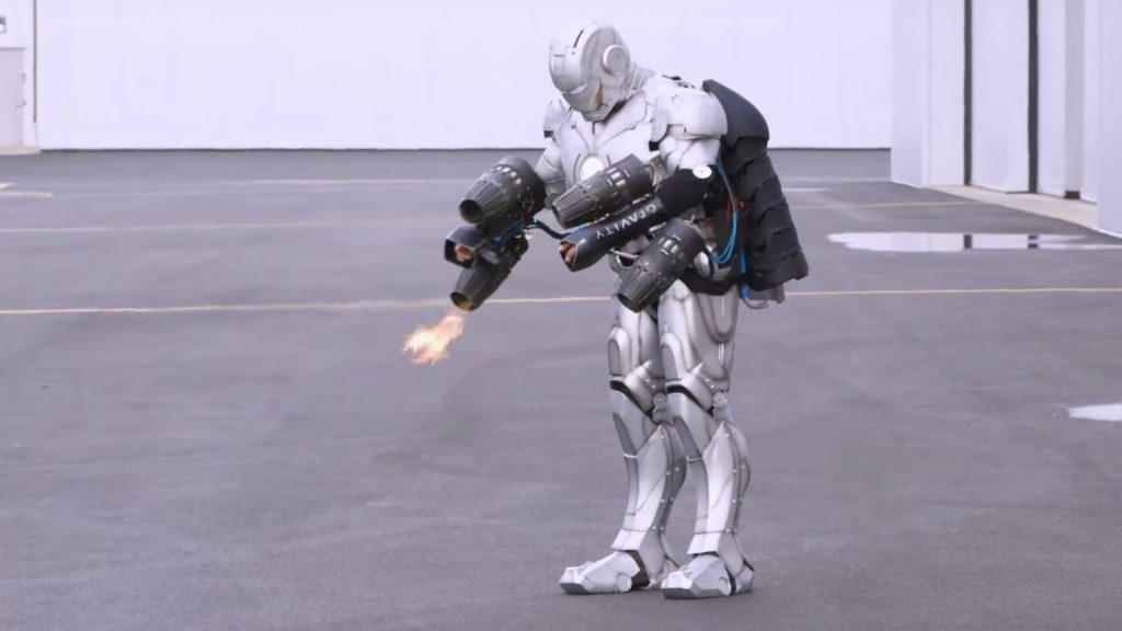 armadura do homem de ferro