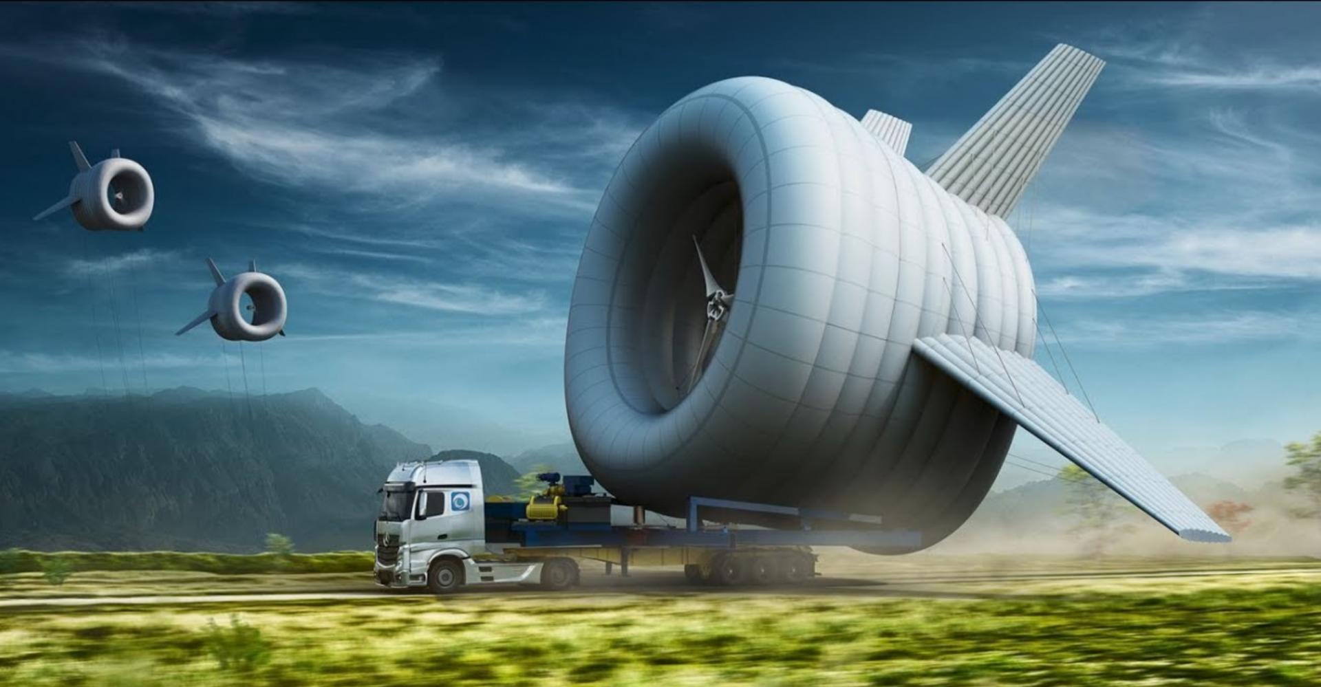 Aeronaves para Produção de Energia Eólica