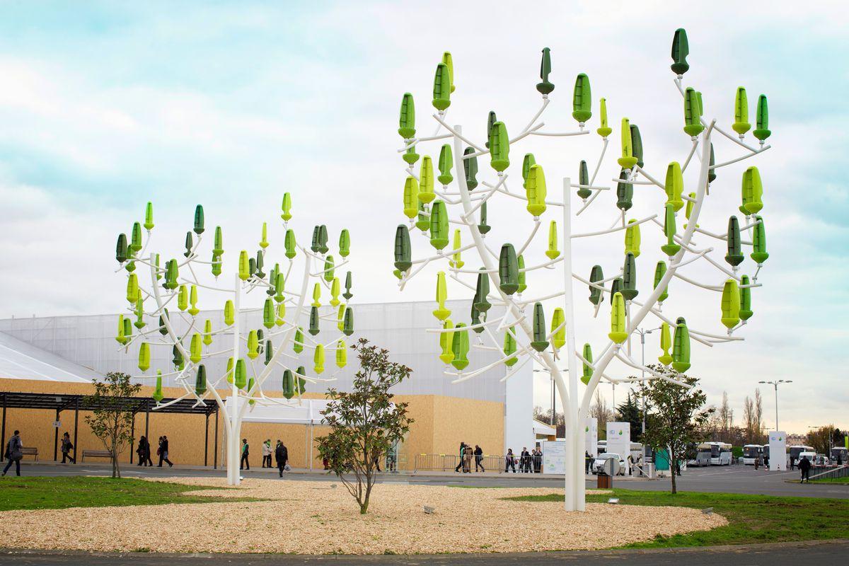 Árvore dos ventos: A tecnologia em micro geração eólica para centros urbanos