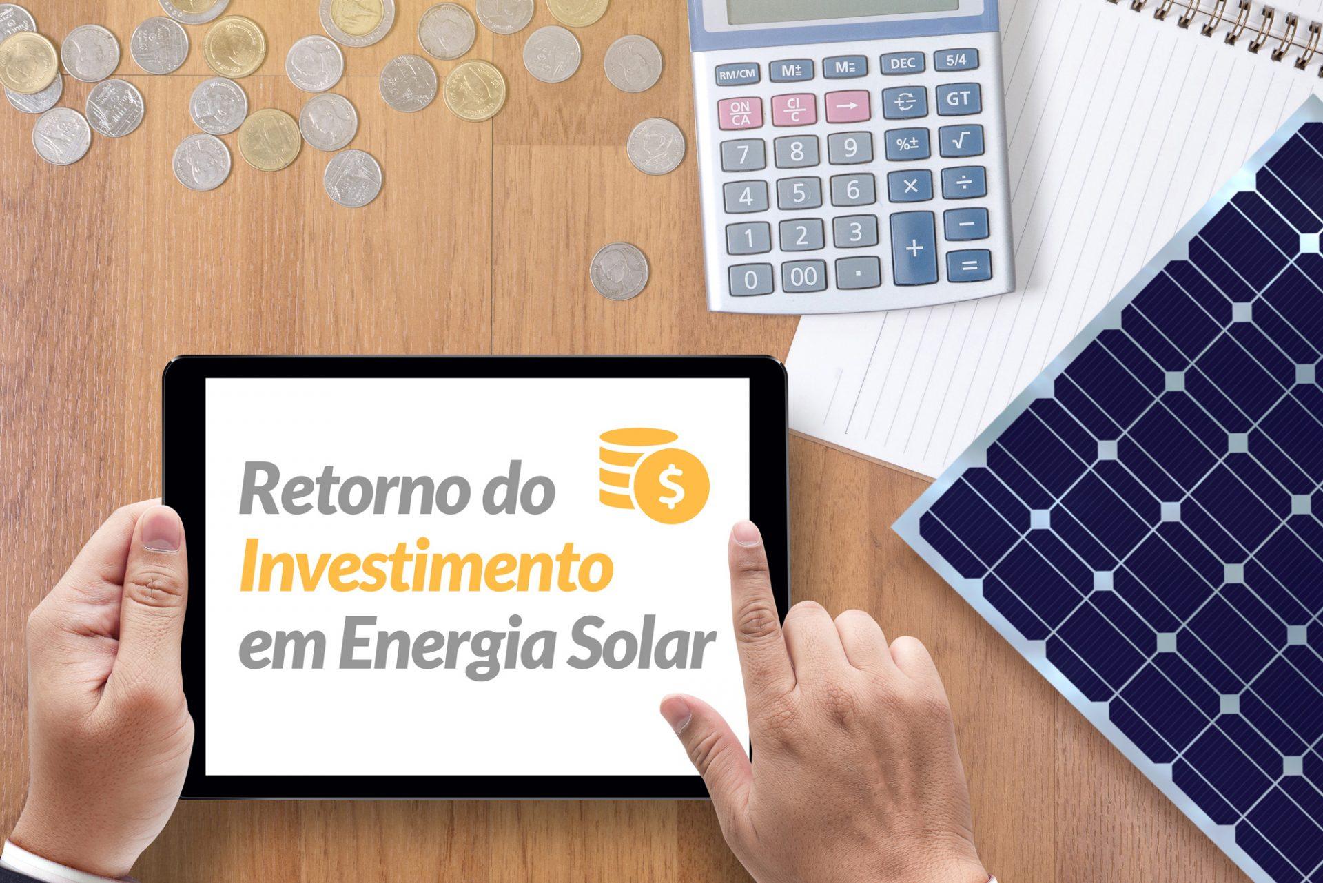 Quanto custa produzir energia solar?