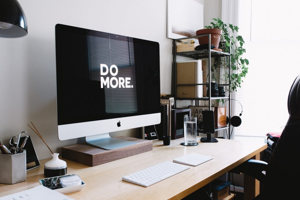 setup de trabalho e estudo