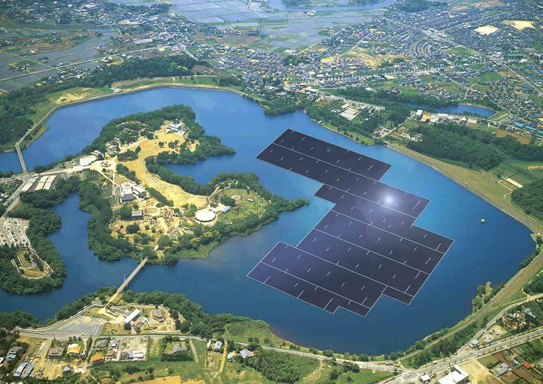 Como funcionam os Painéis Fotovoltaicos flutuantes?