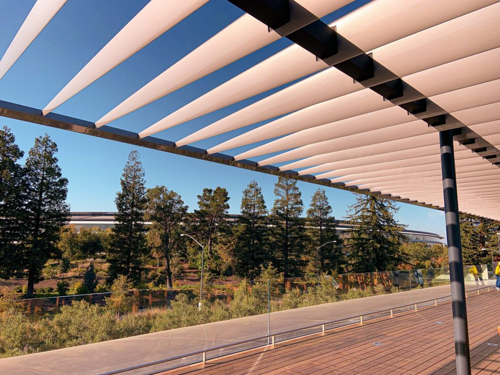 apple park vista to terraço