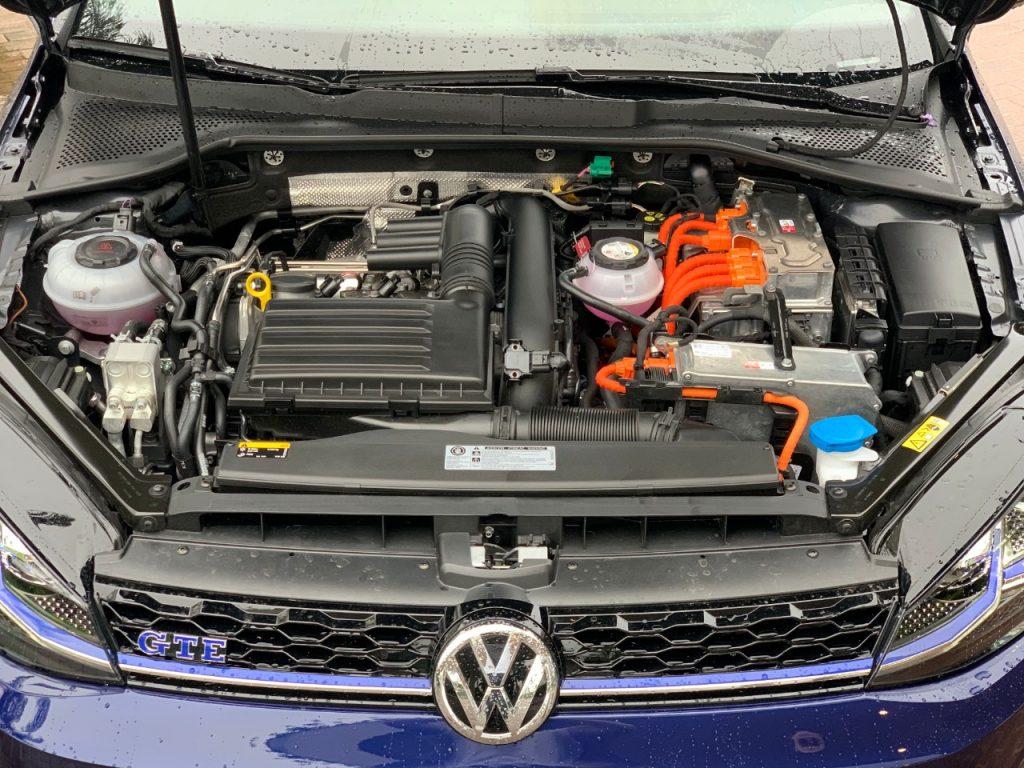 Golf GTW híbrido volkswagen