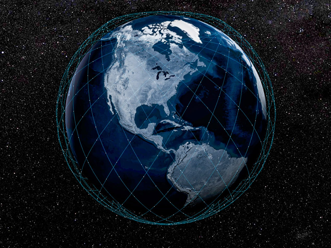 Terra revolta por satélites starlink