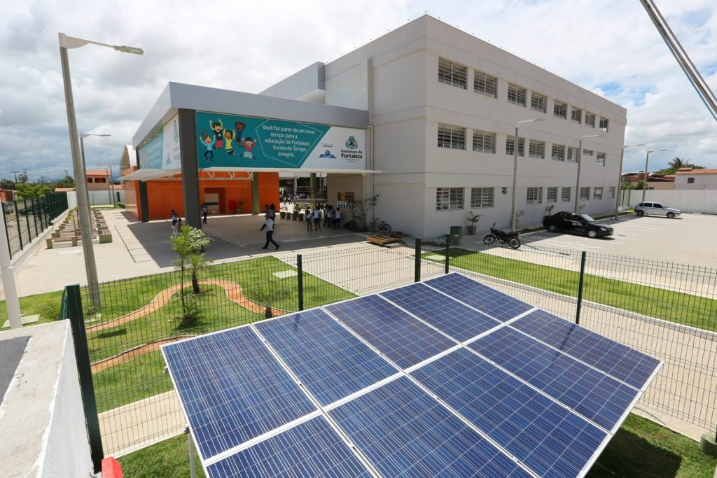energia solar em instituições de ensino