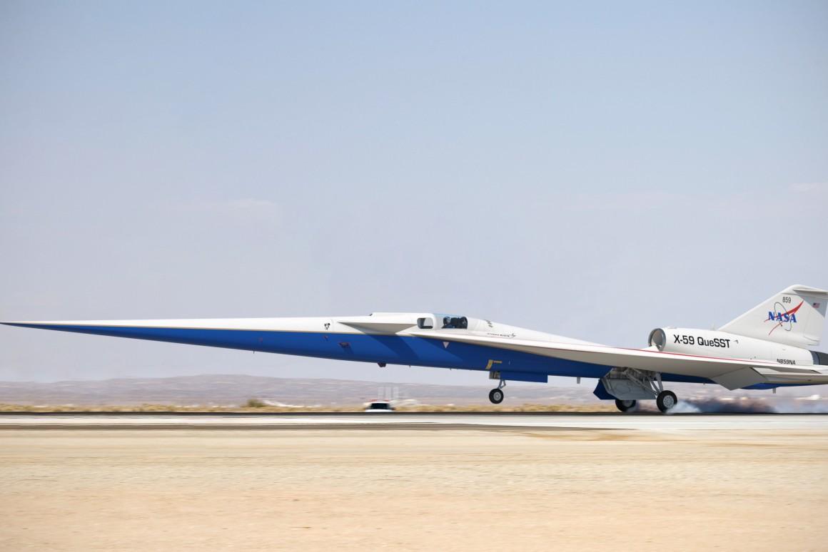 X-59: Avião supersônico da NASA entra em estágio de montagem
