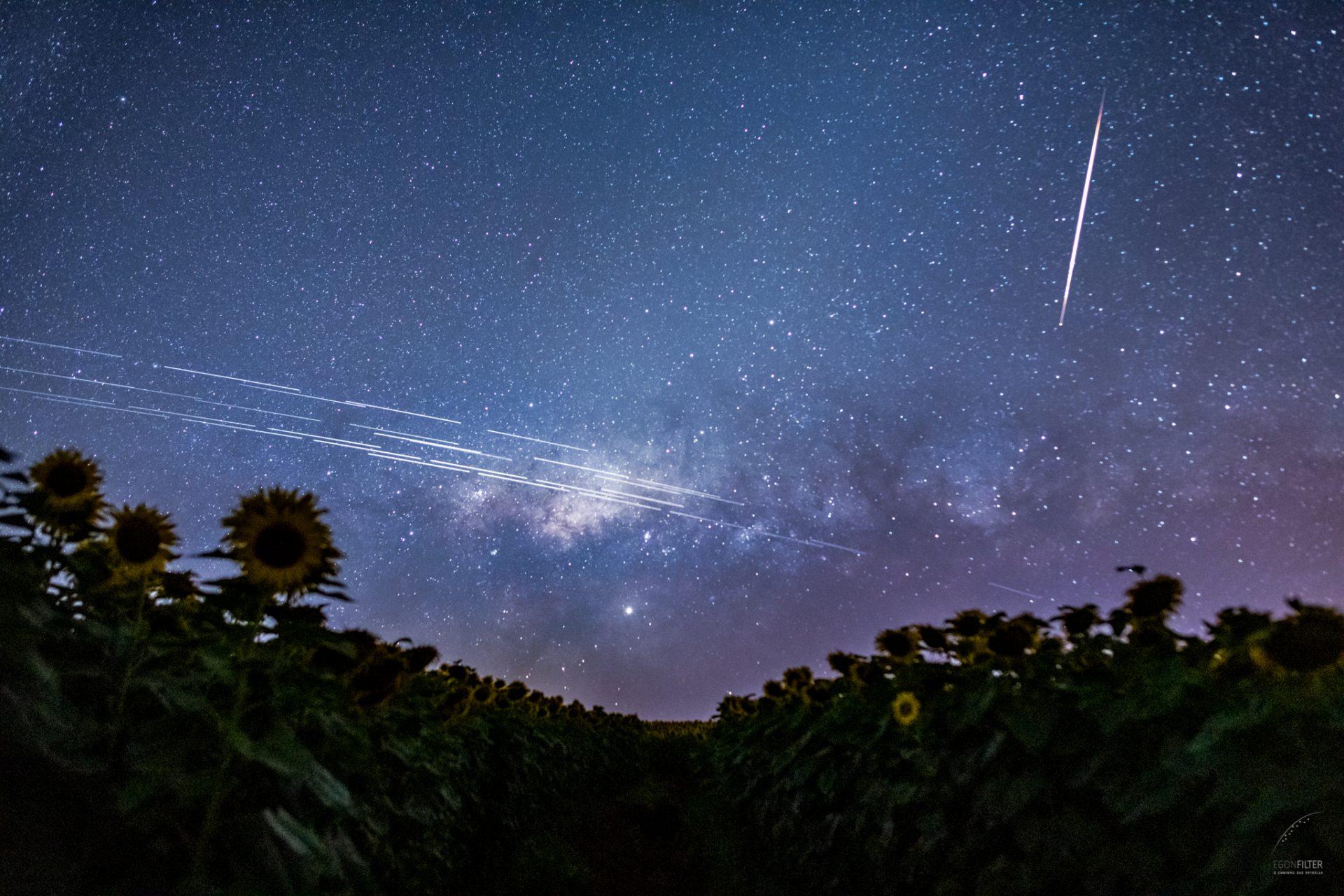 Satélites Starlink menos brilhantes: SpaceX tenta tranquilizar profissionais da astronomia