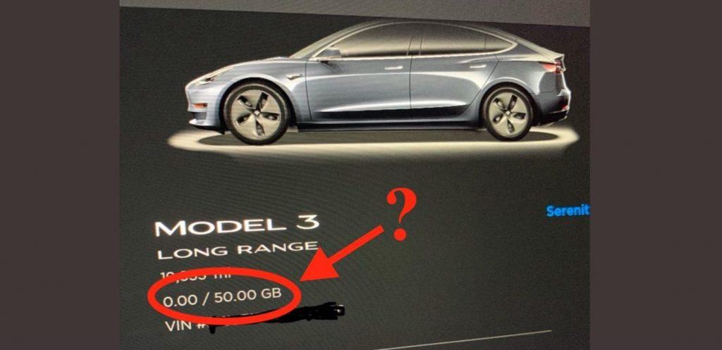 conectividade paga em carros da Tesla