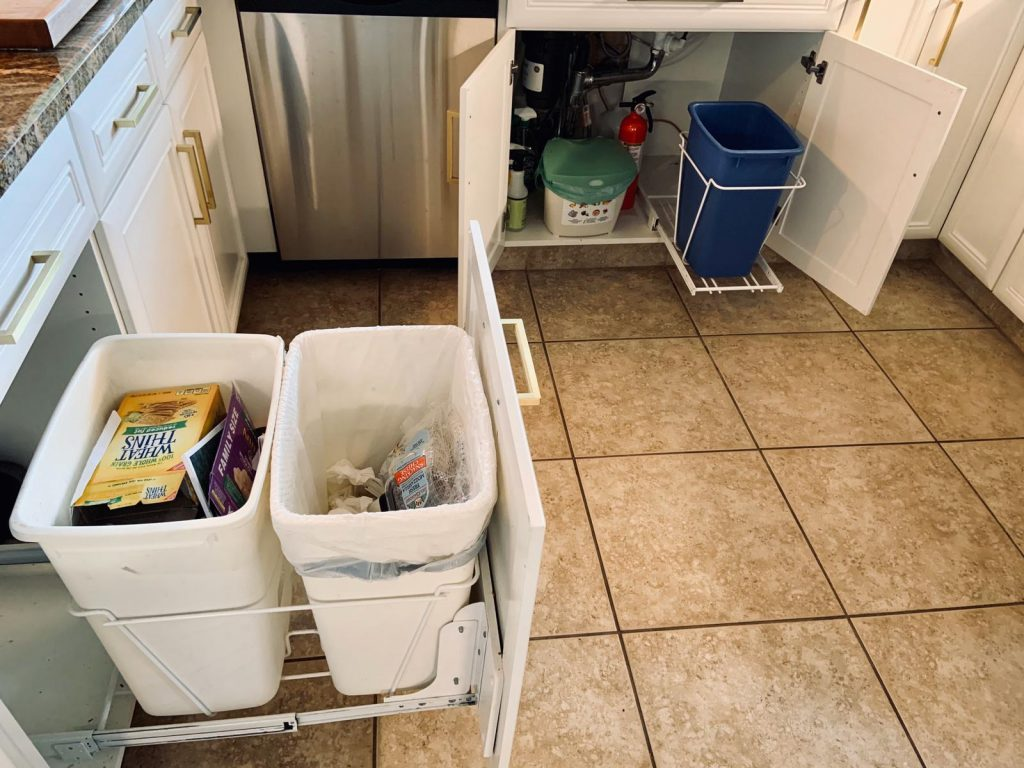 coleta de resíduos 4 tipos de lixeira