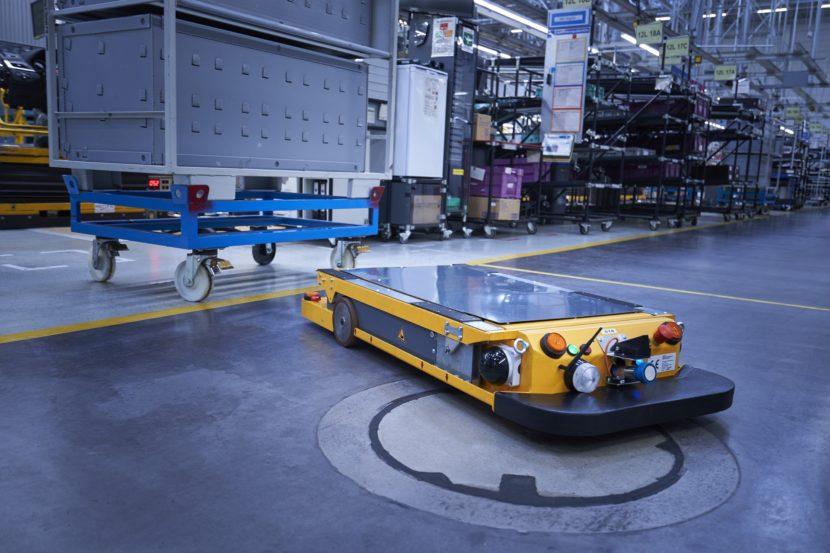 BMW linha de produção automatizada
