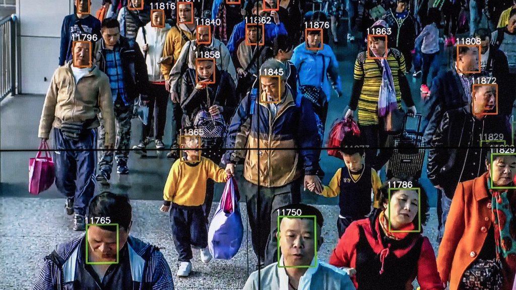 software de reconhecimento facial falha