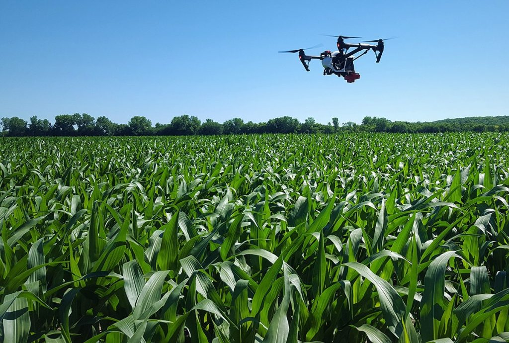 drones na agricultura engenharia 360