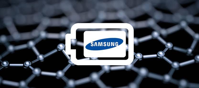 imagem baterias de grafeno da samsung