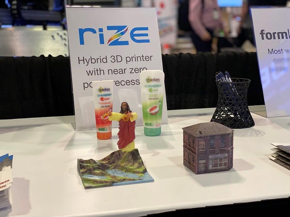 esculturas apresentação no 3DExperience World 2020