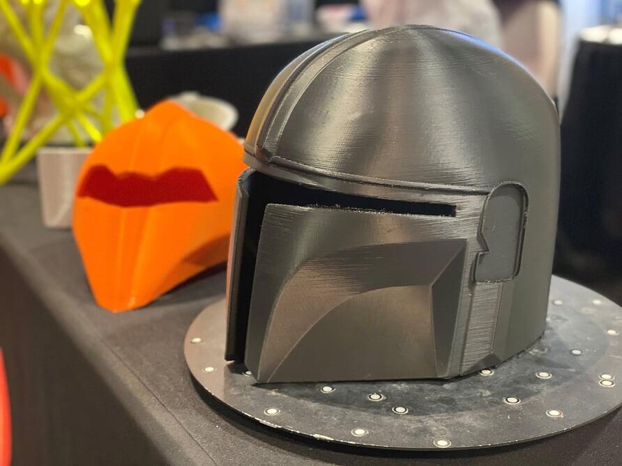 capacete apresentado no 3DExperience World 2020