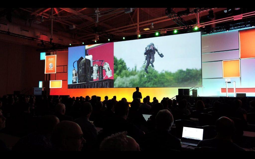 apresentação terceiro dia 3DExperience World 2020