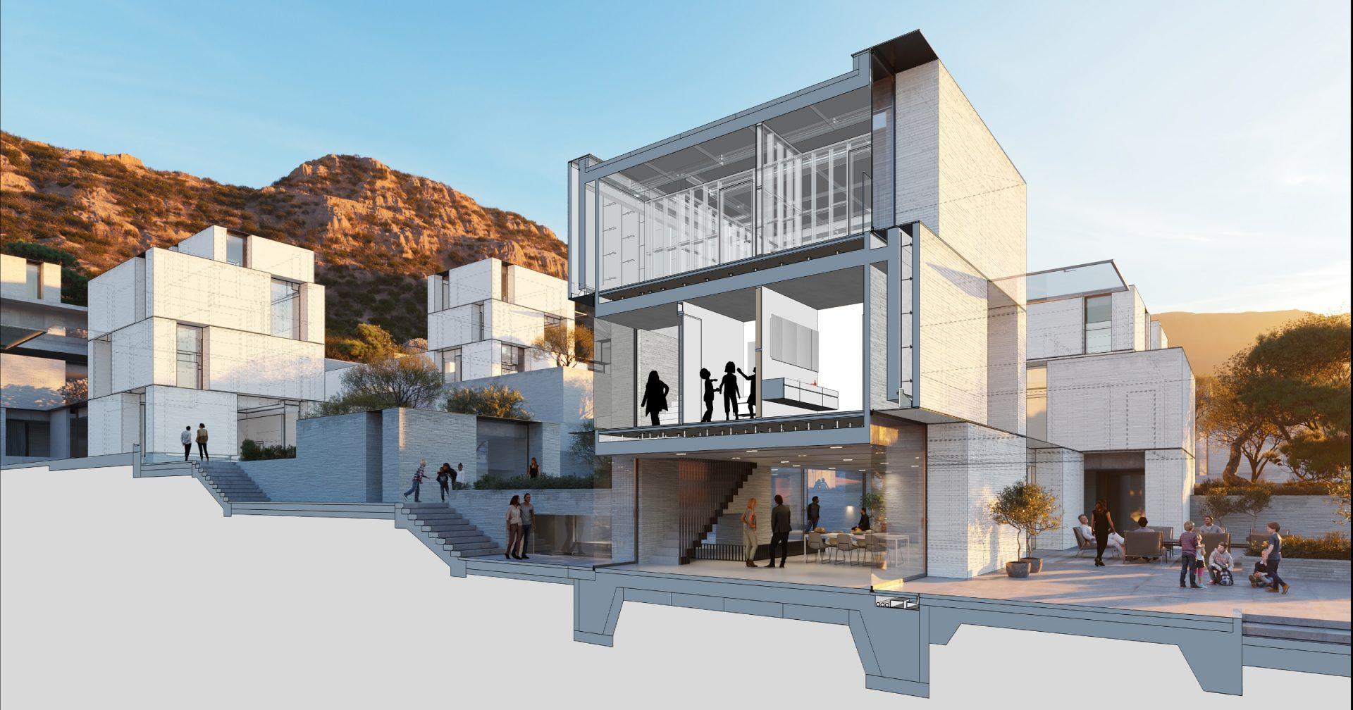 imagem de casa feita no sketchup 2020