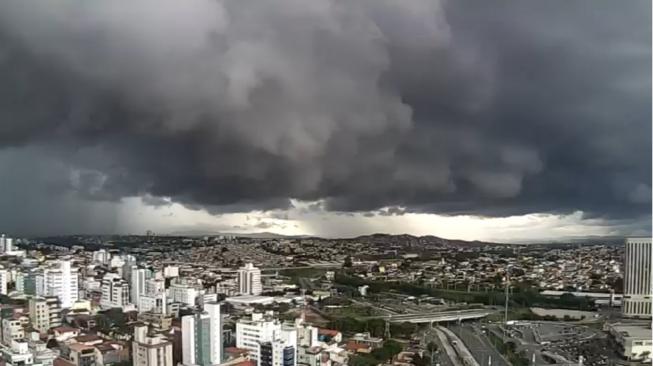 céu nublado em belo Horizonte
