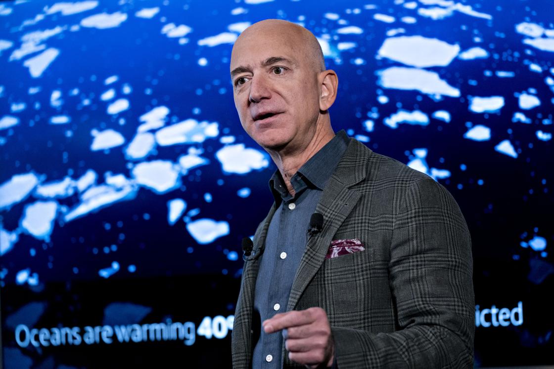 CEO da Amazon faz como a Microsoft e disponibiliza 10 bilhões para atacar as mudanças climáticas
