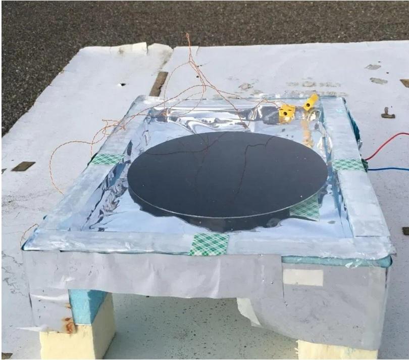 painel noturno desenvolvido pelos pesquisadores